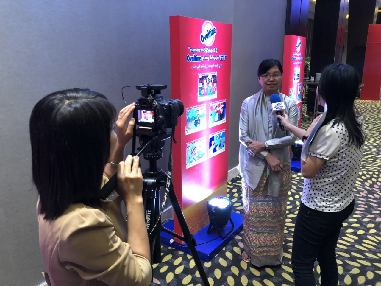 Media Interview with Daw Khin Mar Swe, Deputy Director General from Department of Basic Education Under Yangon Region Educaiton Office