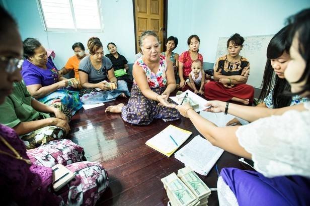 Dawn Microfinance Group Disbursement. August 10th-15th, 2015.