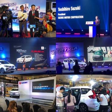 Suzuki Ertiga Launching Event