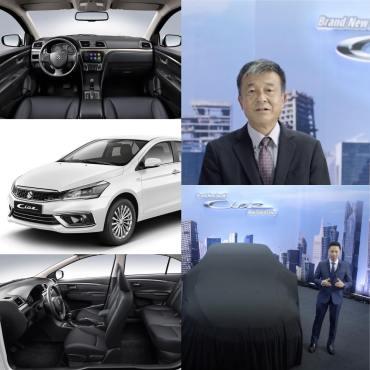 Suzuki Sedan Ciaz Upgraded Model